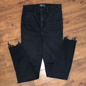 Abercrombie Simone high rise ankle jean